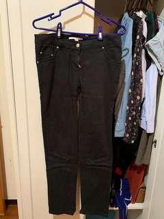 🚚 [二手] 瑞士 TALLY WEiJL 黑色彈性長褲