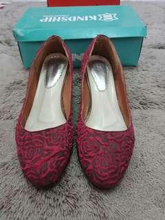 Red Shoes 3cm merah