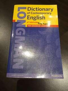 🚚 LONGMAN dictionary of contemporary english