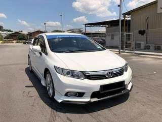 HONDA CIVIC 2.0 FB (A) FULL SPEC