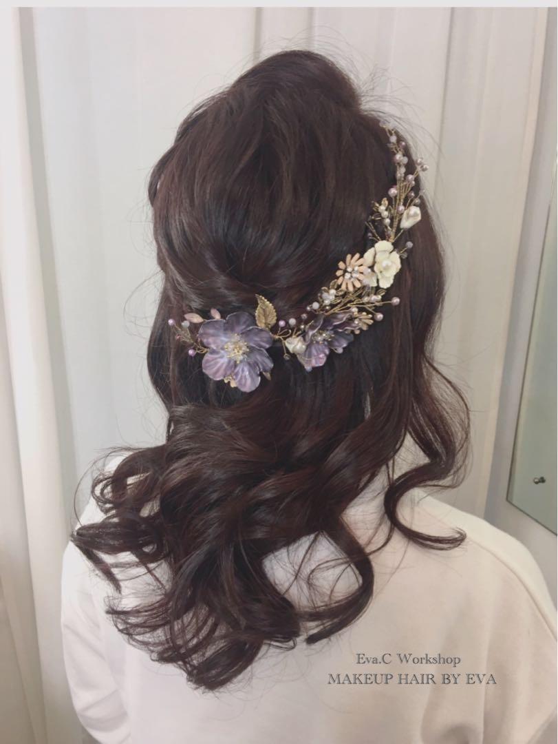 30/04/2019前預約試妝即可享有2019年新娘化妝髮型優惠!