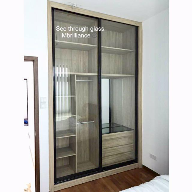 5ft Size Built In Wardrobe With Sliding Door Furniture
