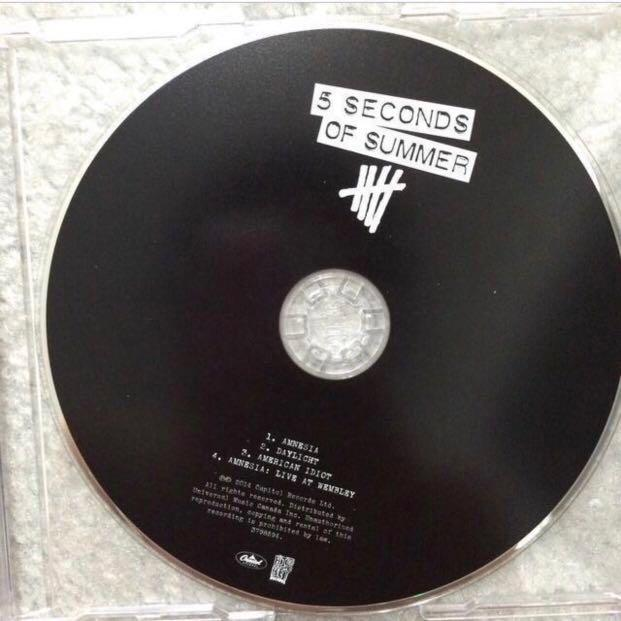 5sos 5 seconds of summer ep cd amnesia #SwapCA