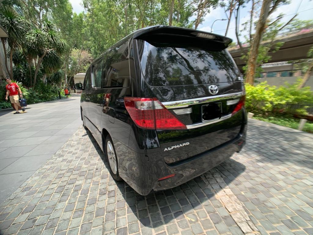 7 seaters beautiful alphard for corporate lease, PHV, daily rental
