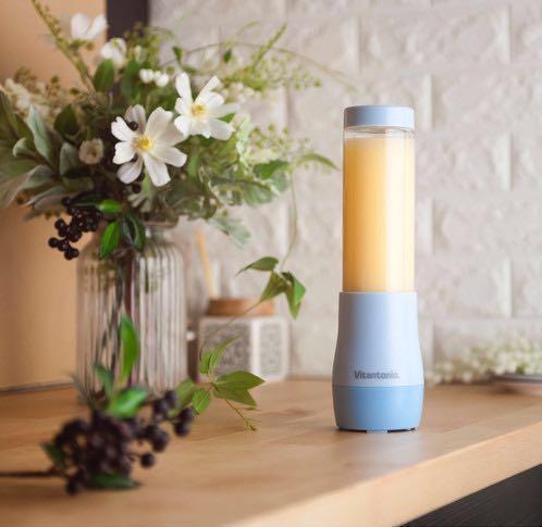[絕版全新] Vitantonio便攜式攪拌器 - 絕版粉藍色BabyBlue