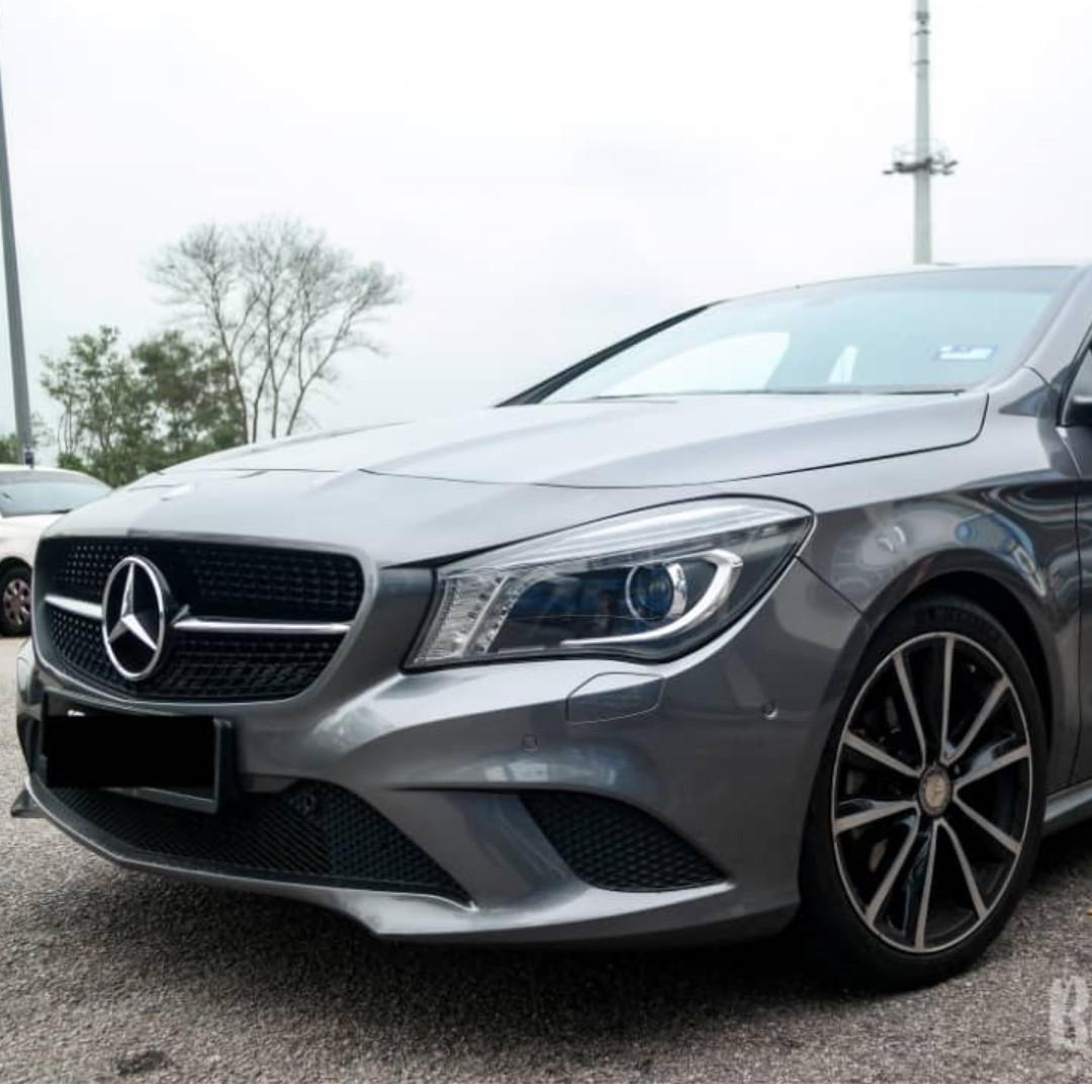 AAA condition Mercedes Benz CLA 200 Super Low Mileage: 44k 100% free accident 100% smoke free Branded Tinted (Raytech) 7 years warranty