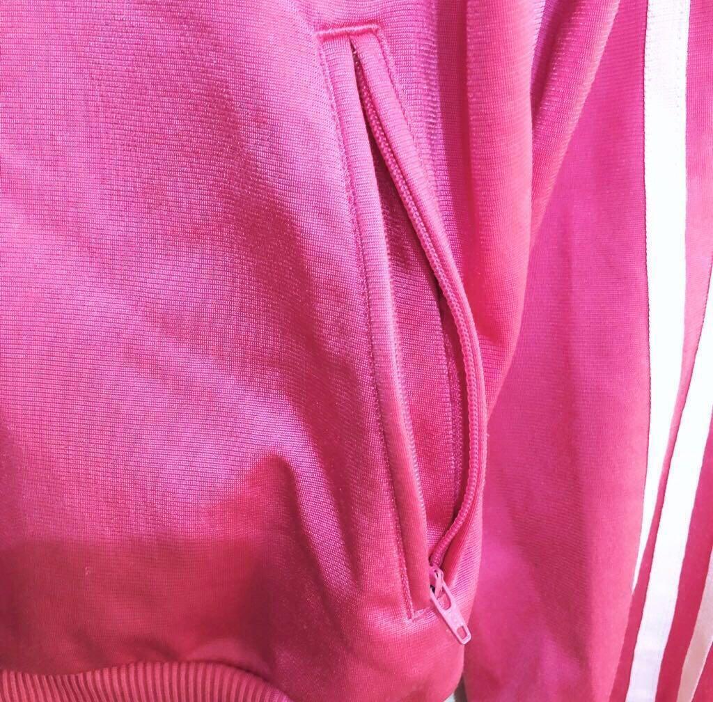Adidas 桃紅色運動外套 #誠可議
