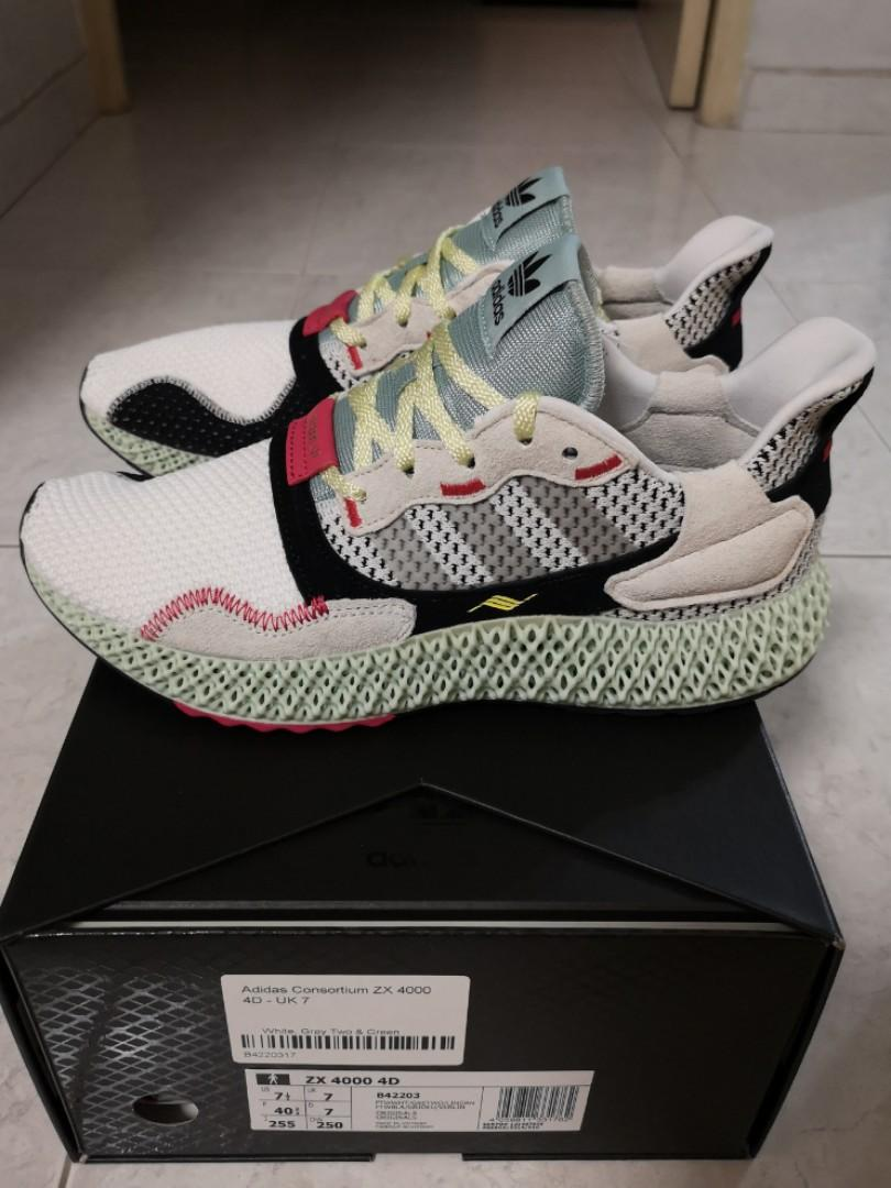 the best attitude 3ac7e d24cc Adidas Consortium ZX4000 4D Futurecraft, Men's Fashion ...