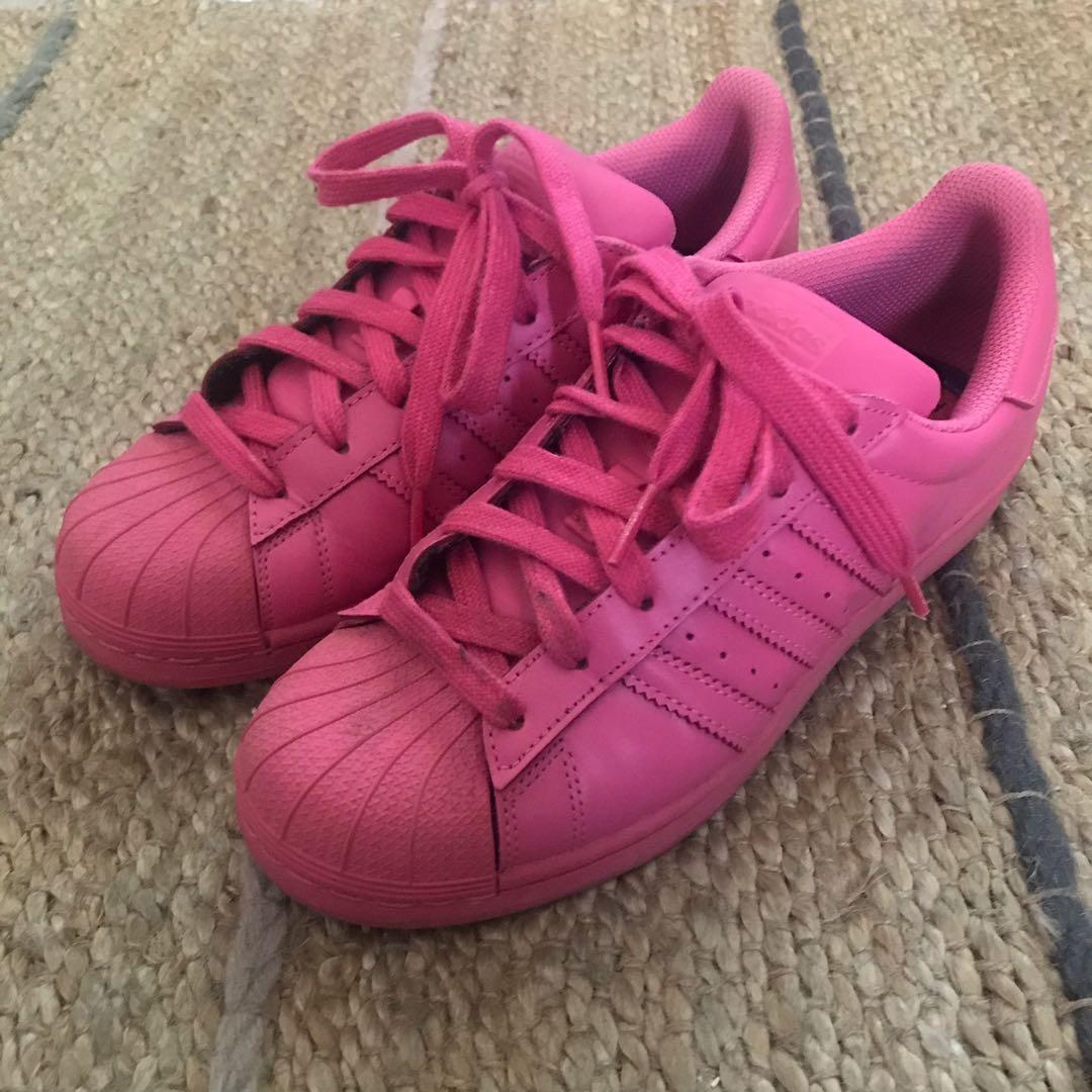 Adidas Superstar Supercolor Pack size 5.5 (fits 7.5 womens