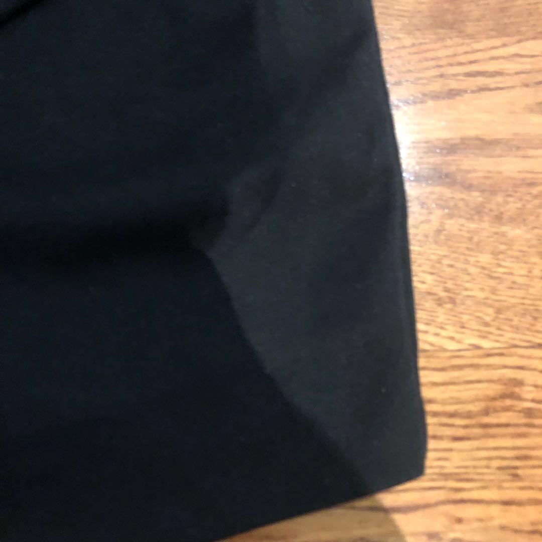 Black bodycon skirt