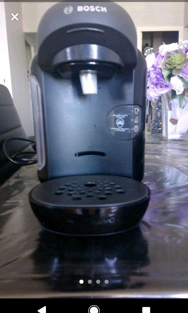 Black Bosch Tassimo Coffee Machine