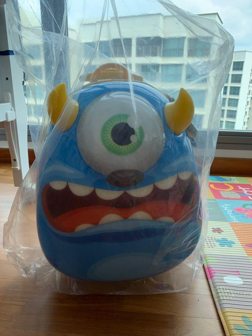 Bouncie Monsters Trolley Bag