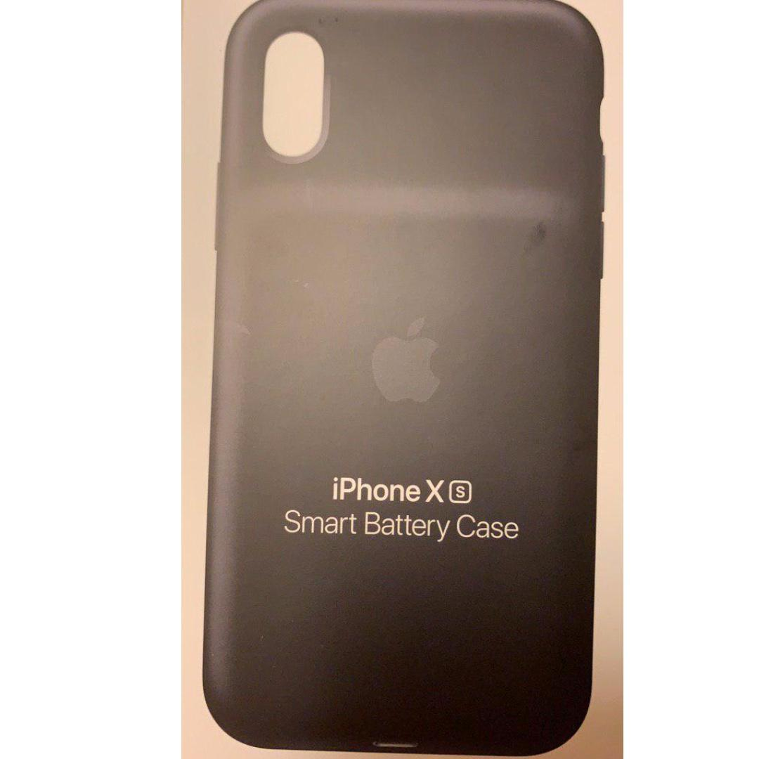 BRAND NEW Apple iPhone XS Black Smart Battery Case