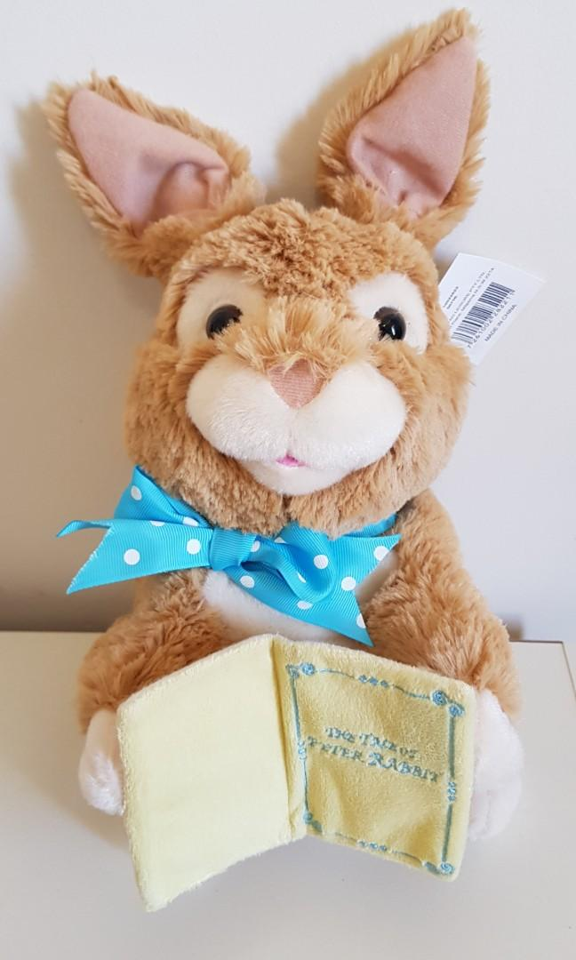 Musical plush bunny rabbit (NEW)