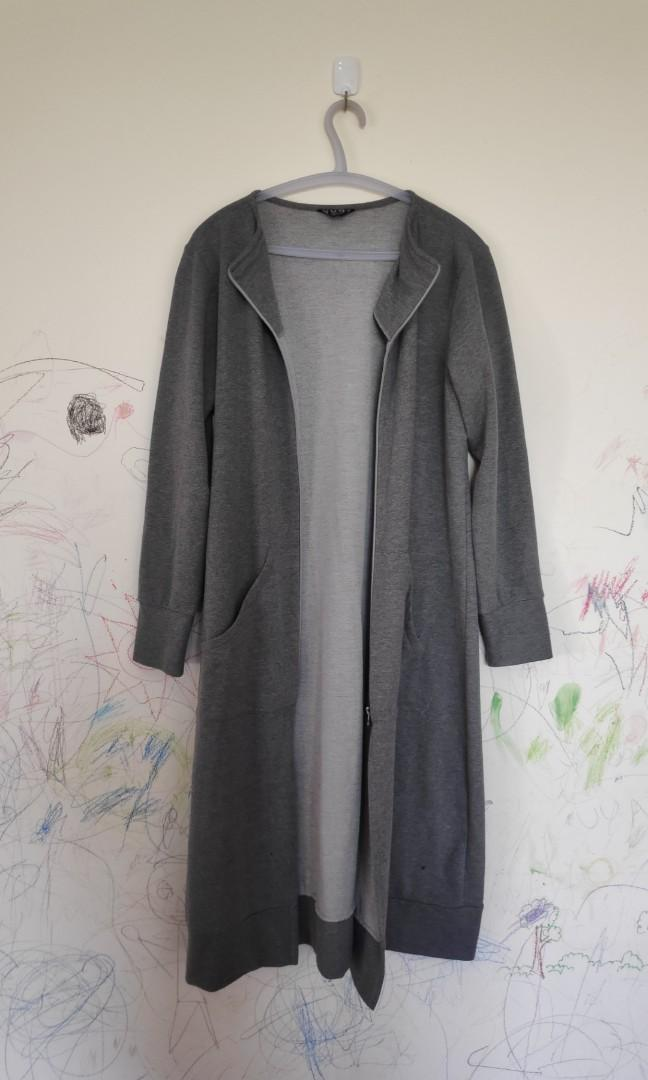 Cardigan Abu with Zipper