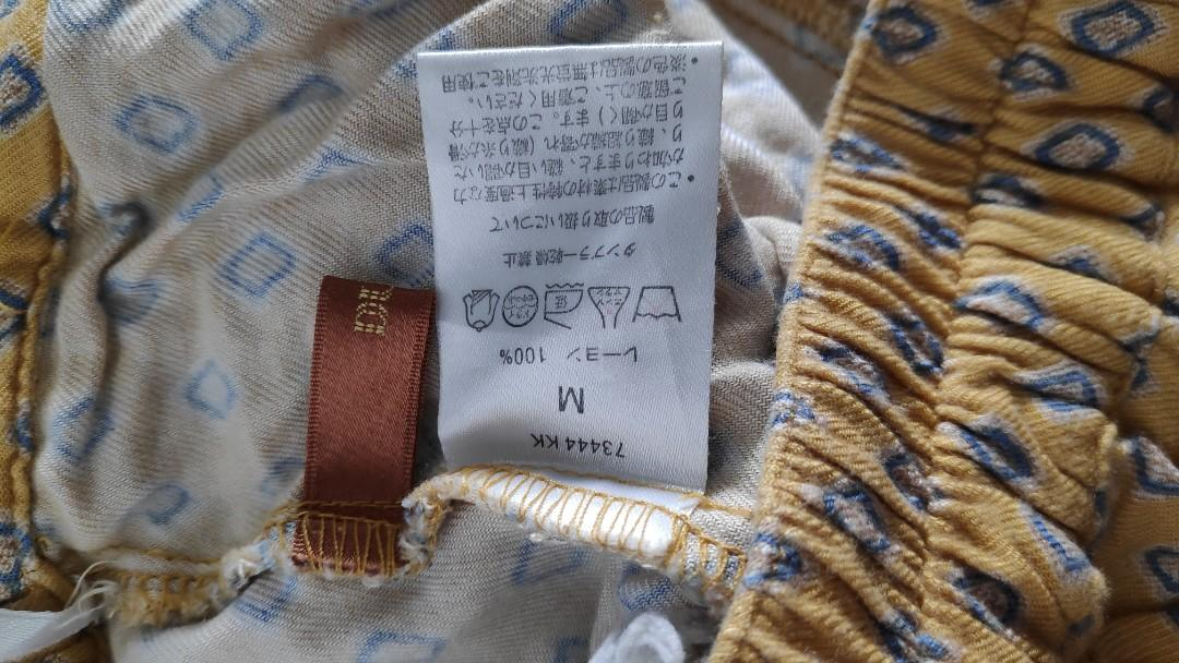 Celana Santai Kuning