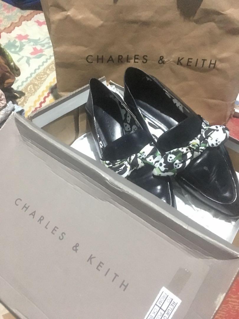 Charles n Keith 36 ( Baru 2 x pakai )