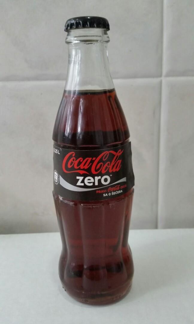 蕯拉熱窩Coca Cola (玻璃樽)可口可樂收藏品(B款)