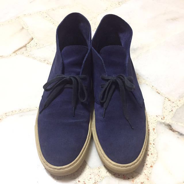 Common Projects Suede Chukka Boots, Men
