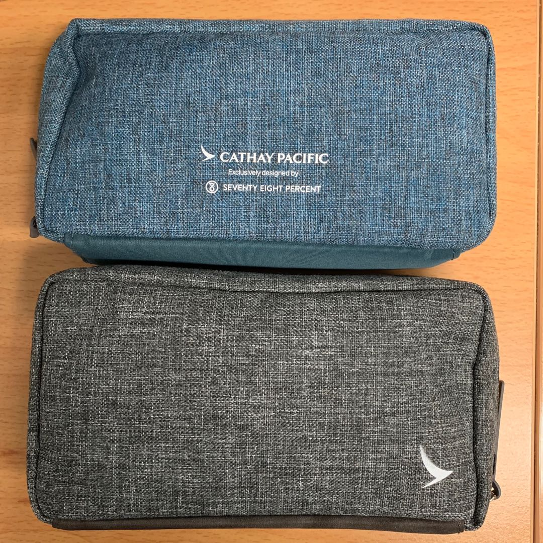 Aeronautica Unopened Business Class Cathay Pacific Seventy Eight Percent Amenity Bag