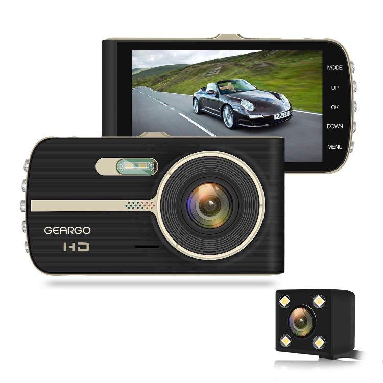 Dash Cam Geargo Dashboard Camera Full Hd 1080p On Dash Car Video