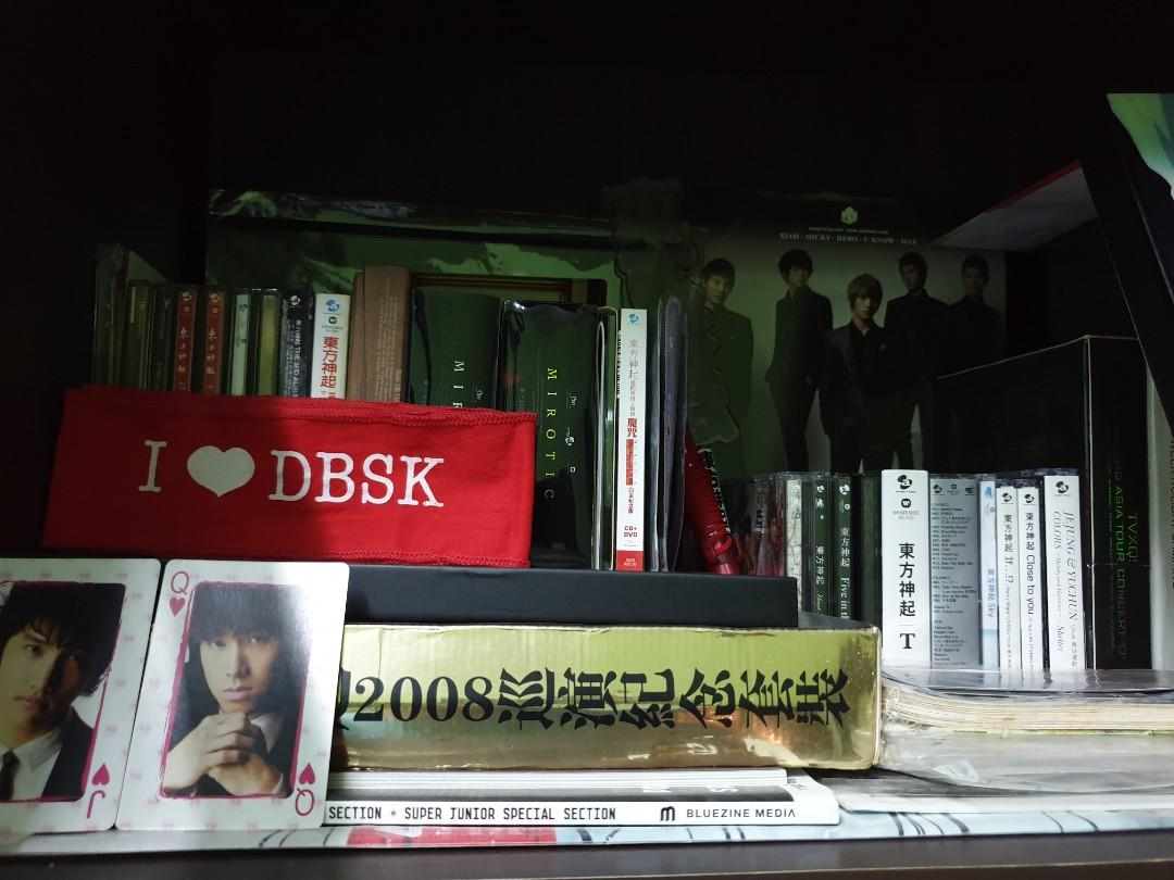TVXQ Tohoshinki JYJ Albums CDs VCDs DVDs Collectible Pre-Loved Merchandise