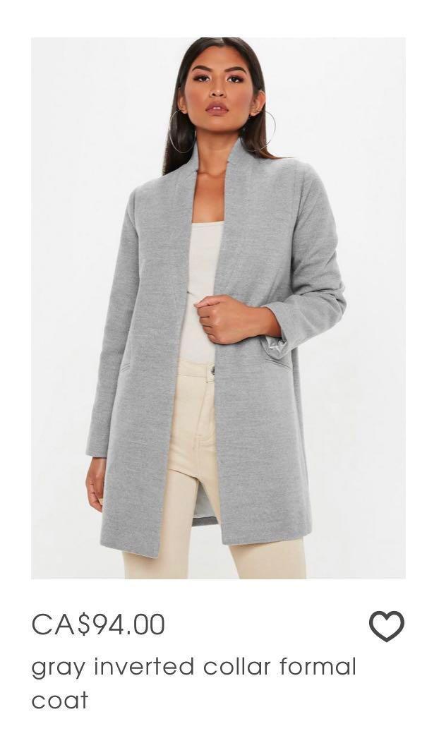 Grey coat #swapCA