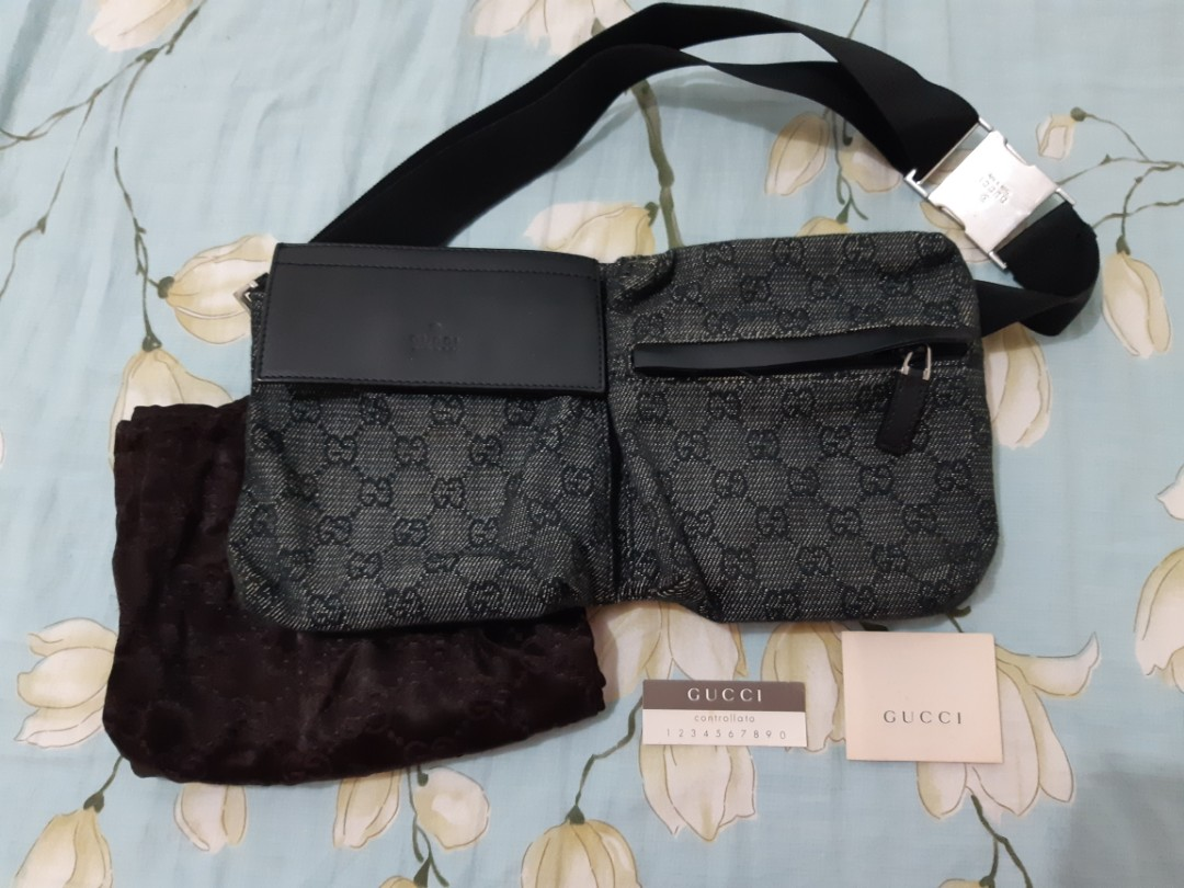 d6b42c36b9fb Gucci Waist Bag, Luxury, Bags & Wallets, Others on Carousell