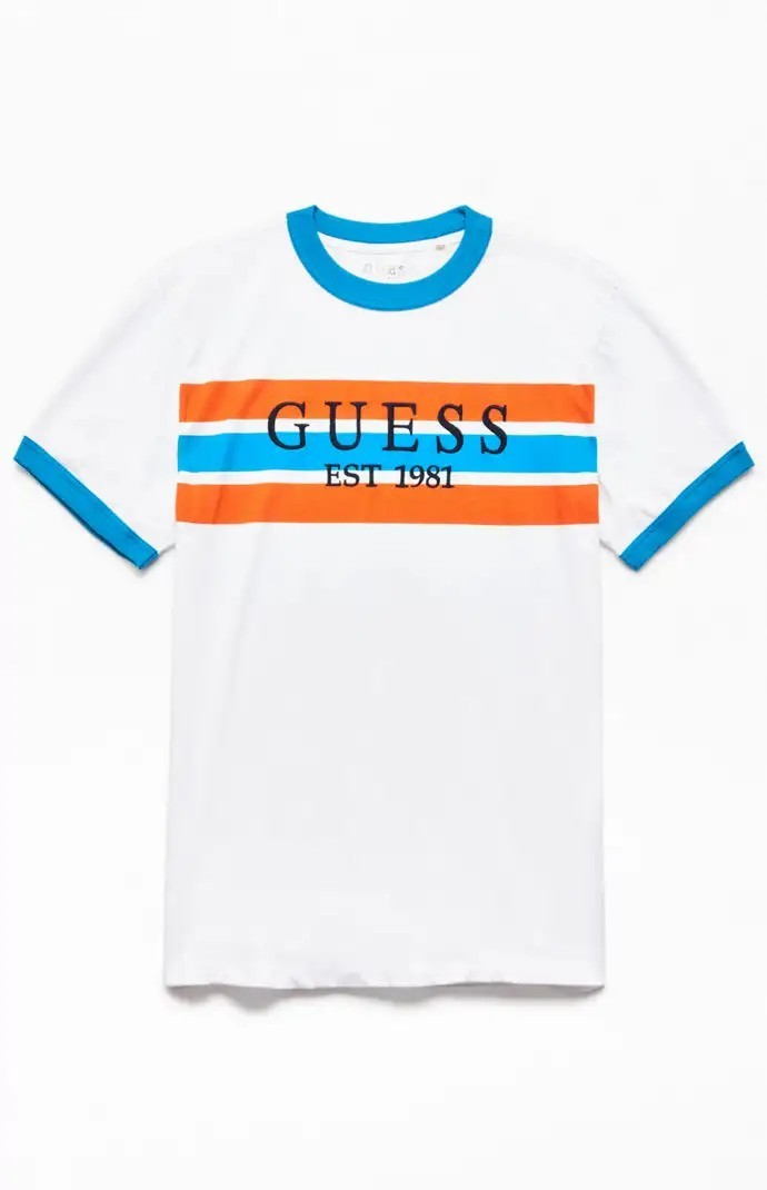 12a758c8fd Guess top, Men's Fashion, Clothes, Tops on Carousell