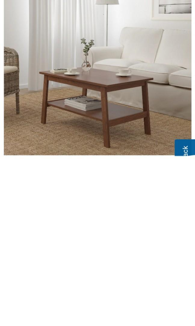 outlet store 06134 e5fcd Ikea Lunnarp Coffee Table, Furniture, Tables & Chairs on ...