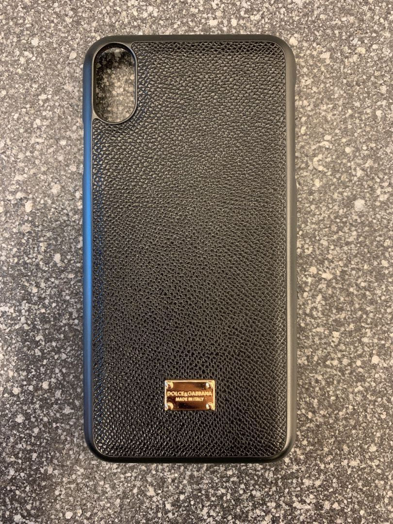 timeless design fd733 b63c3 IPhone XS Max D&G Dolce and Gabbana cover