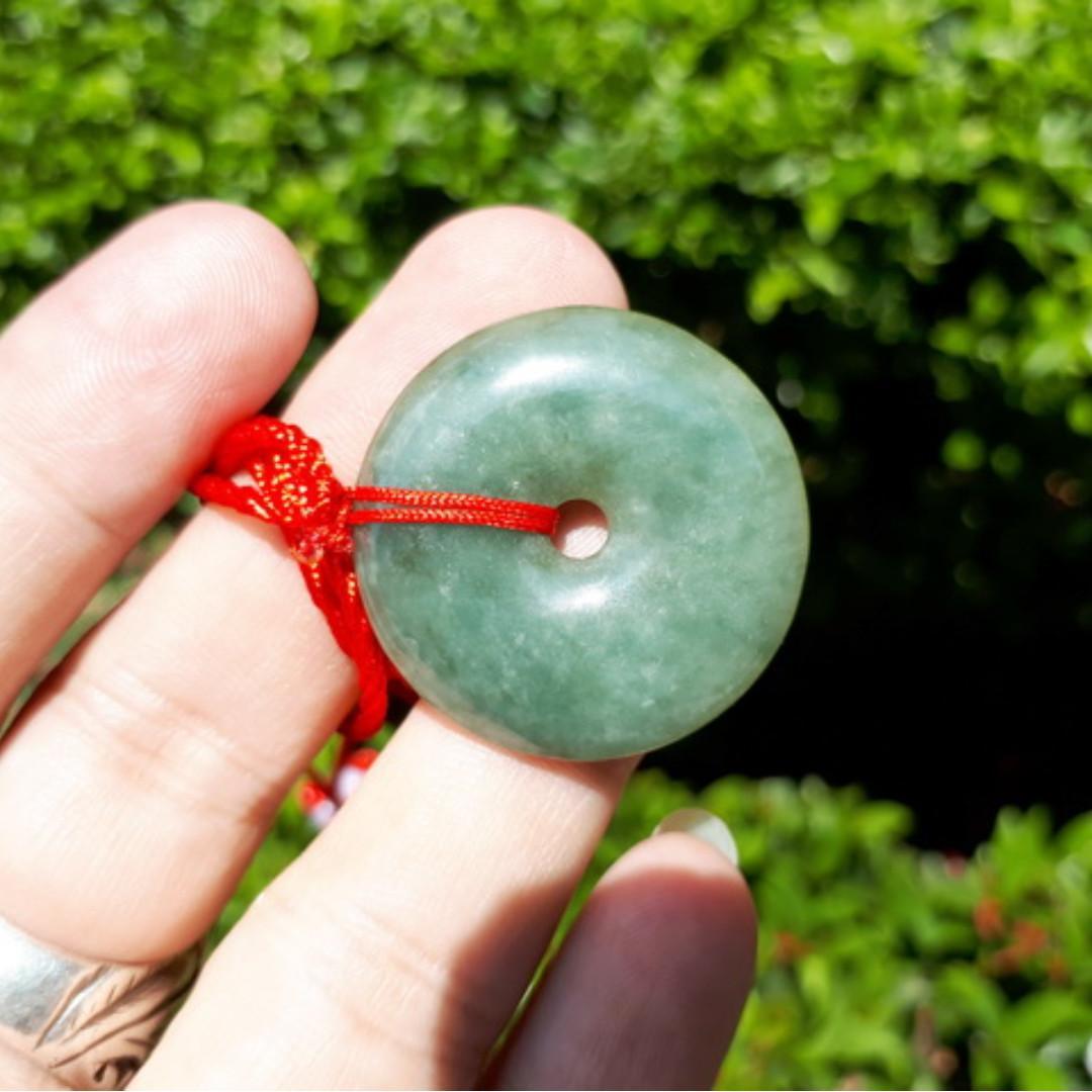 Liontin Batu Permata Giok Jadeite Jade Type A JDT017 Origin Burma Memo My Gems Lab