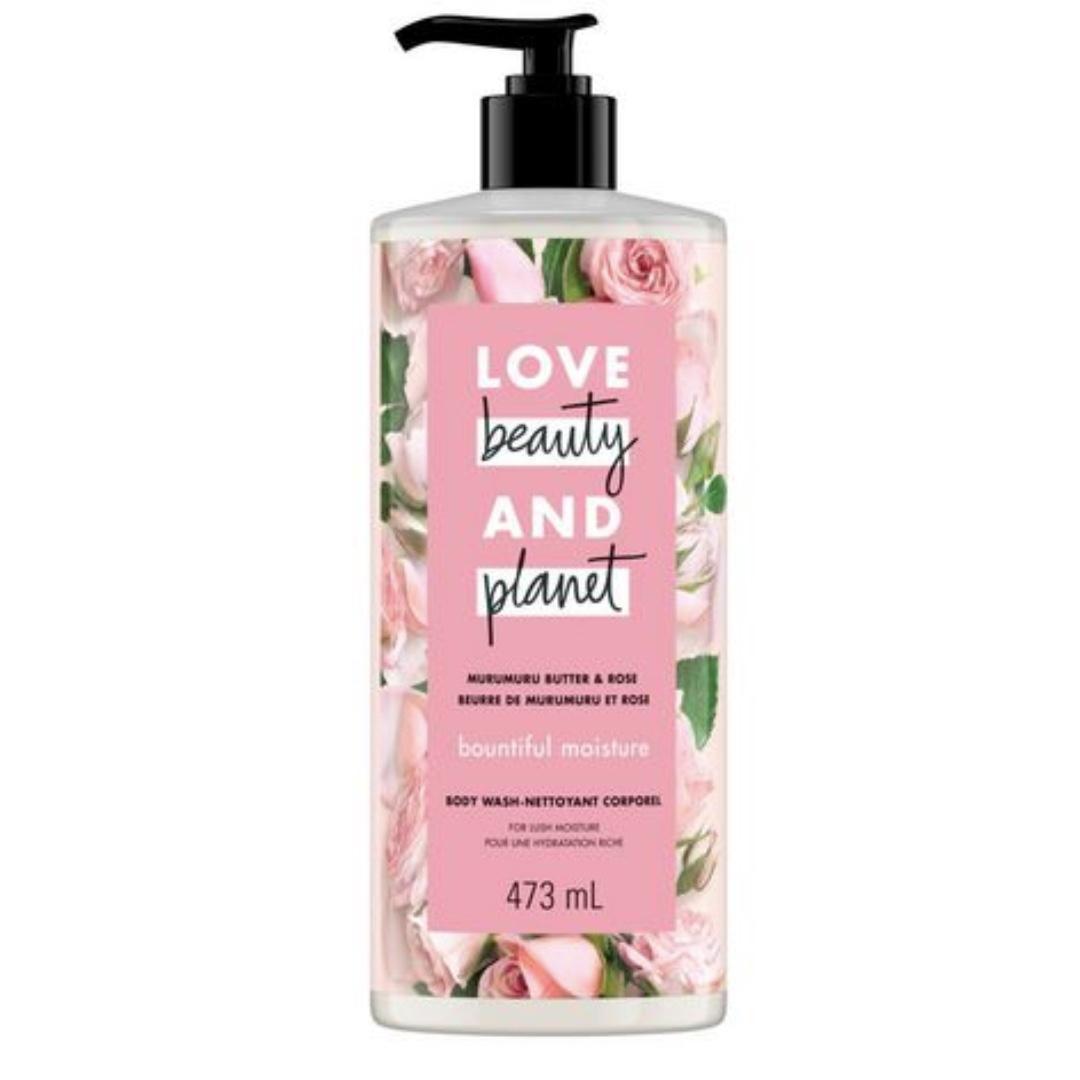 Body Wash Love Beauty And Planet Murumuru Butter & Rose Bountiful Moisture 473 mL