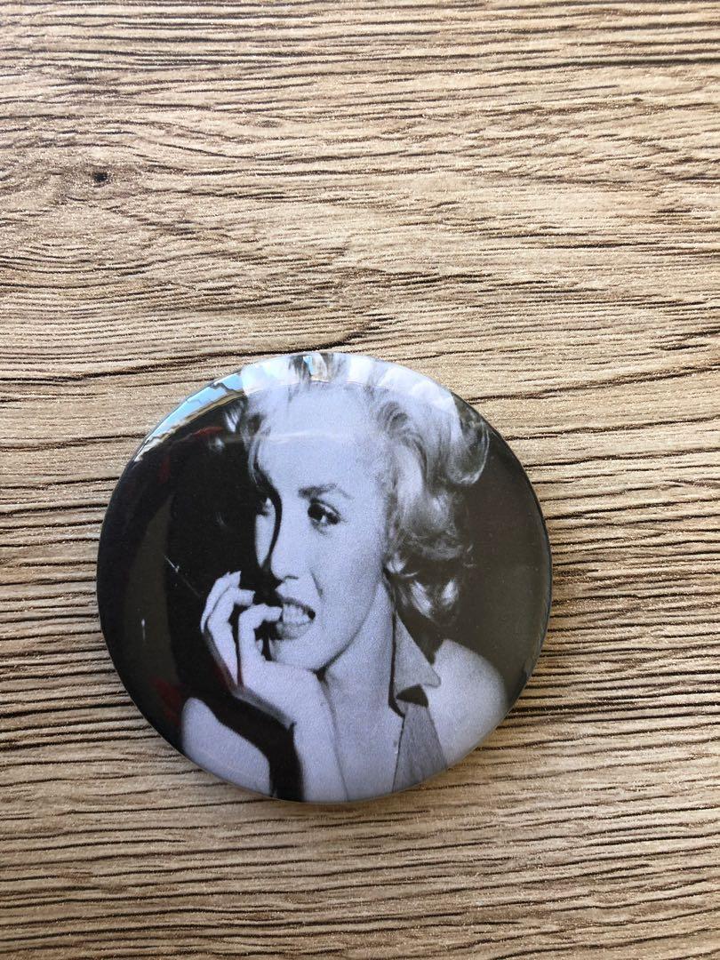 Marilyn Monroe Badges (4 Pack) 58mm