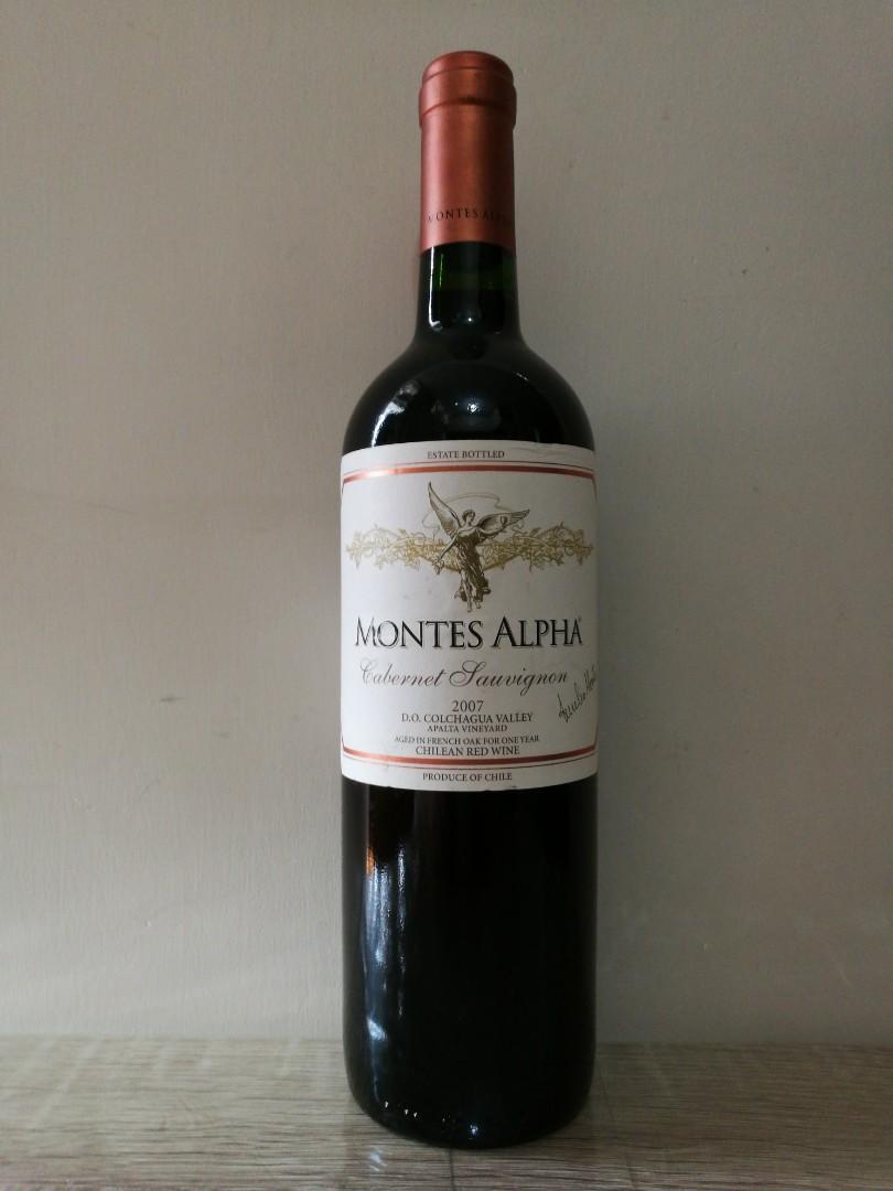 智利MONTES ALPHA 2007 紅酒