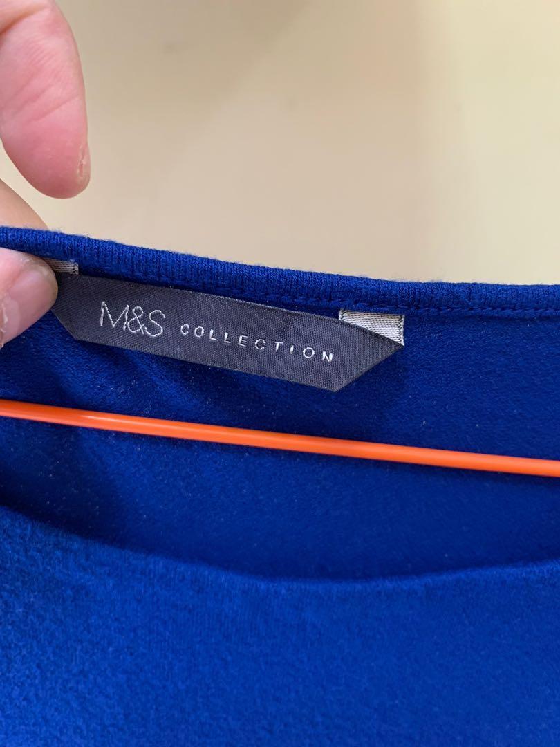 M&S BLUE