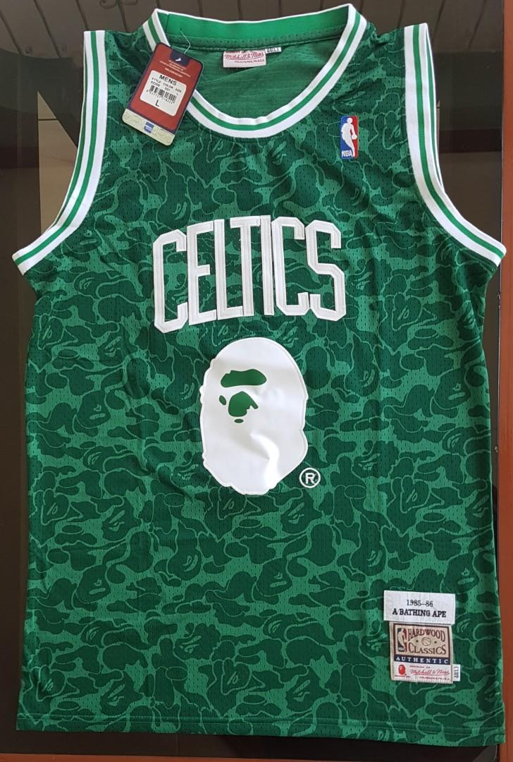 purchase cheap f8865 96901 NBA Jersey - Boston Celtics 93 BAPE edition Jersey, Sports ...