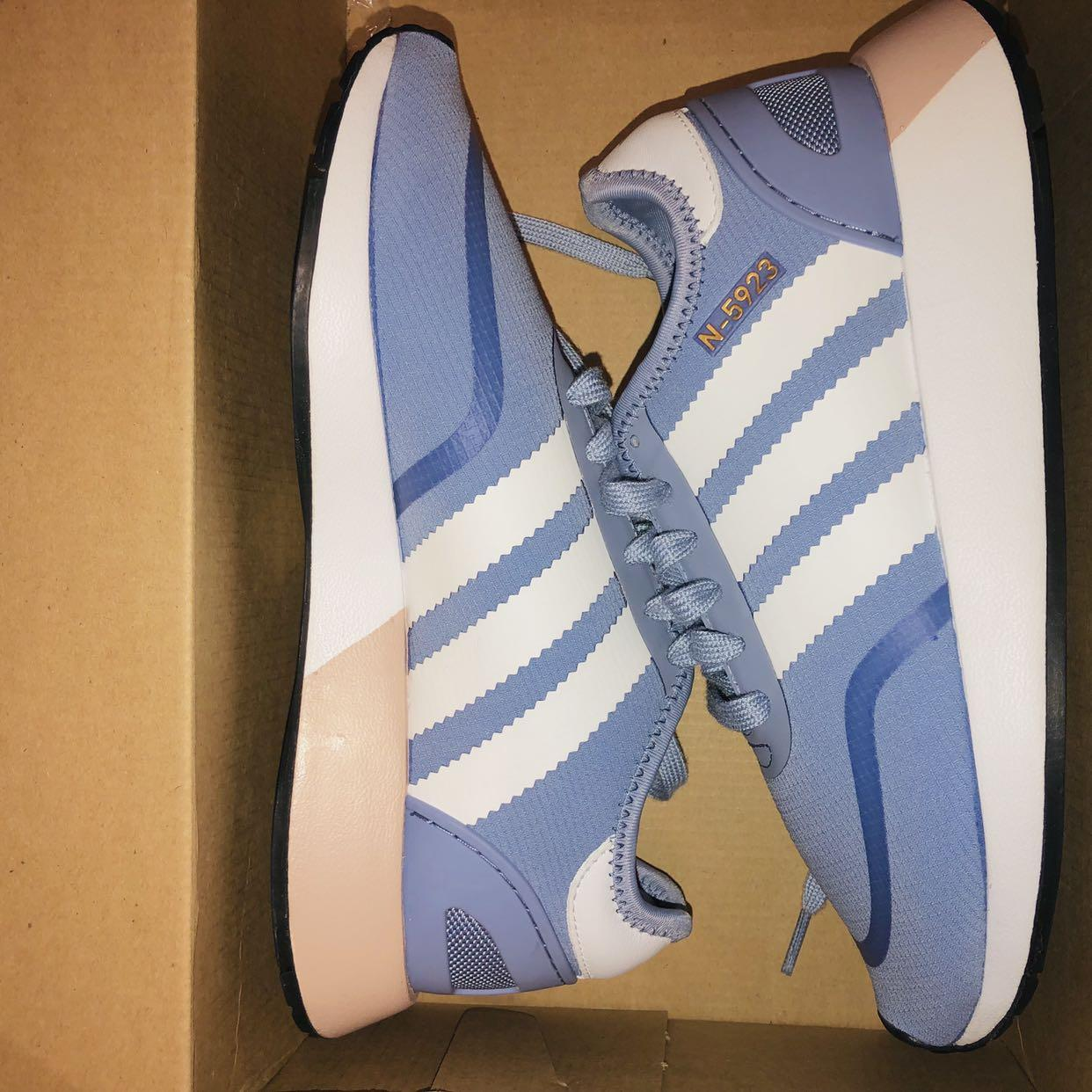 NEED GONE adidas n-5923 originals sneaker shoes in chalk blue and white #SwapCA