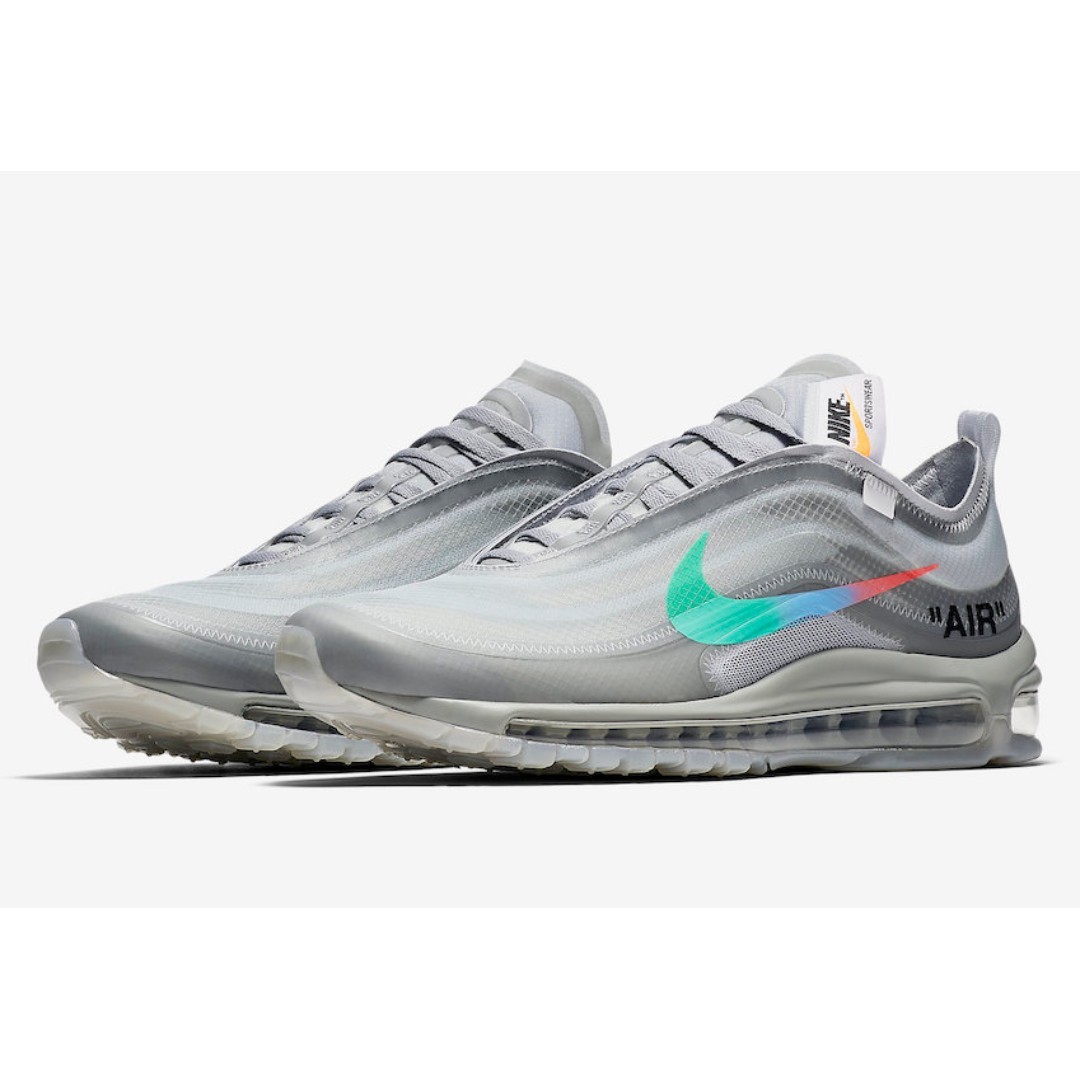 Nike x Off White The 10: Air Max 97 (Menta) US 9.5