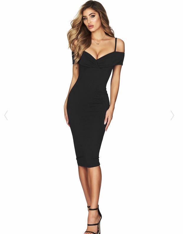 Nookie Midi Dress Phonix