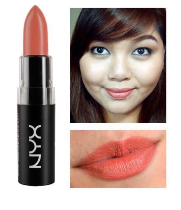 NYX Matte Lipstick MLS22 Strawberry Daquiri