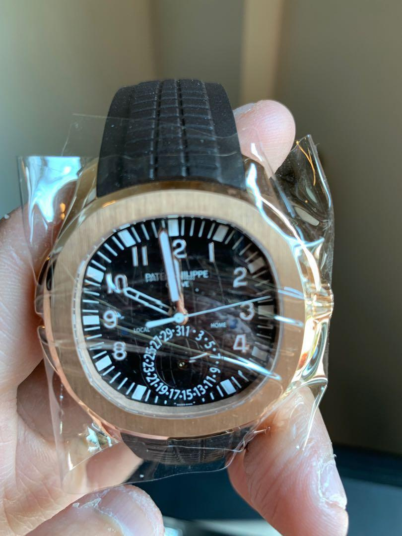 Patek Philippe Aquanaut Travel Time 5164r Luxury Watches On Carousell