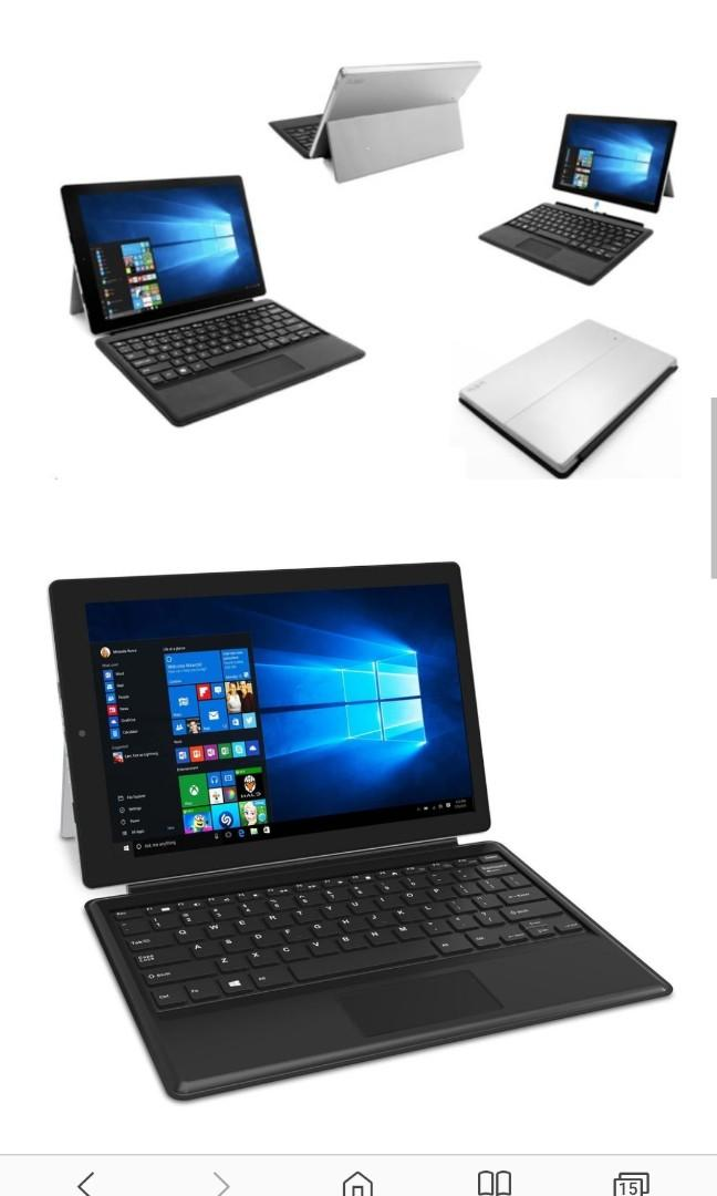 Rca Cambio 12 2 Inch 2 In 1 Touchscreen Tablet Notebook Mobile Phones Tablets Tablets On Carousell