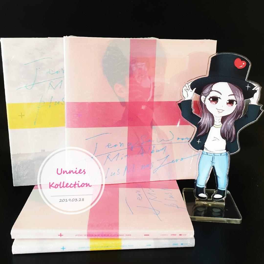 💥💥READY STOCK💥💥  Jeong Se Woon - Mini Album Vol.3 [±0]