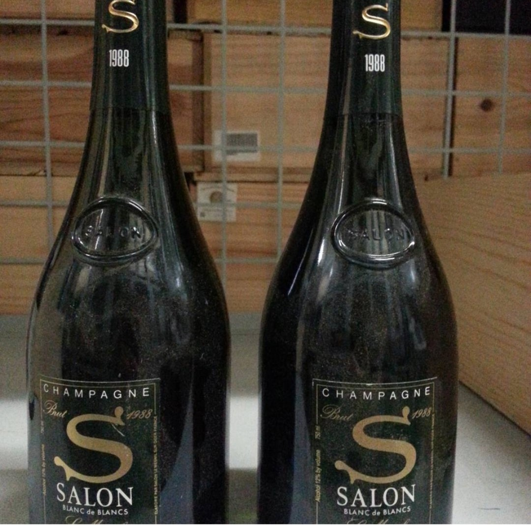 Salon Champagne 750ml bottles x 2 in stock only