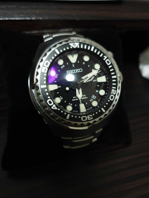 Seiko kinetic tuna SUN019P1