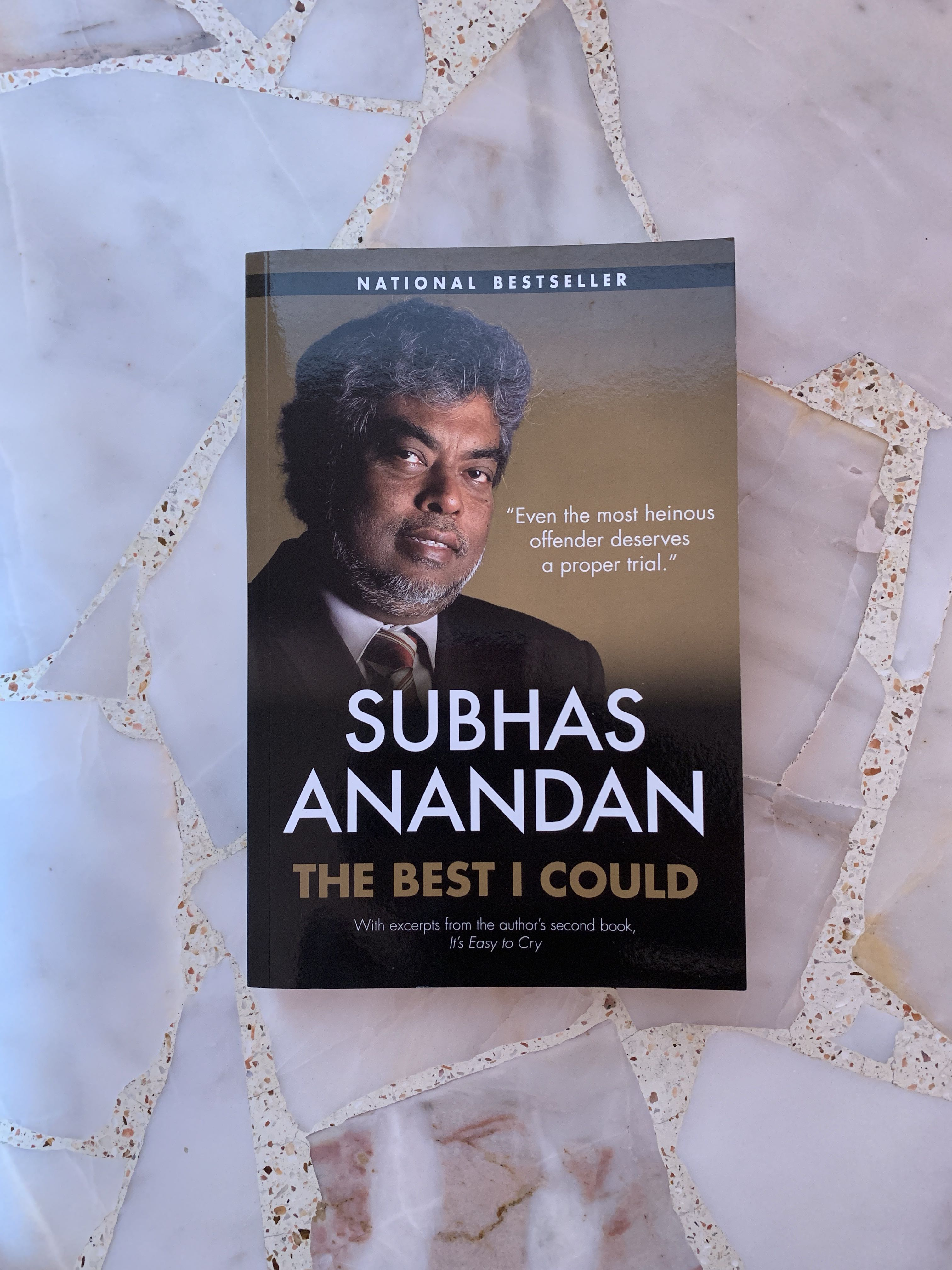 Subhas Anandan The Best I Could Book