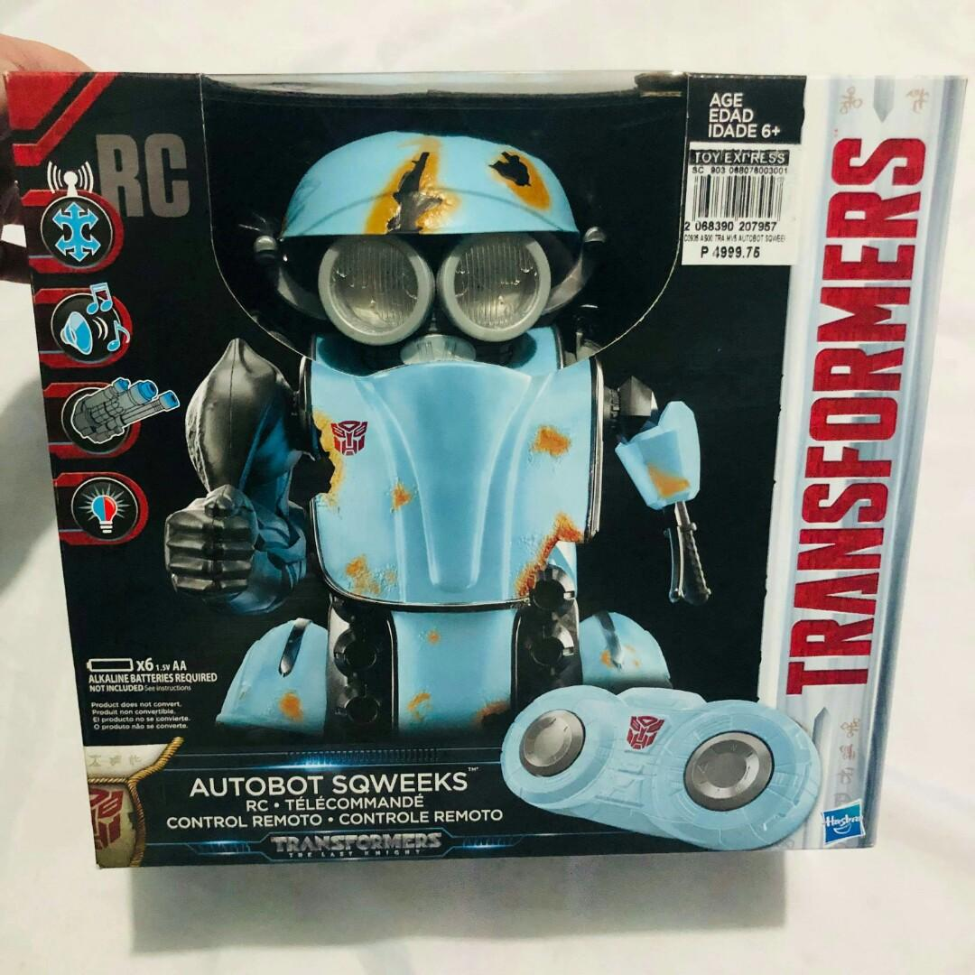 Transformers Autobot Sqweeks Remote Control Telecommand