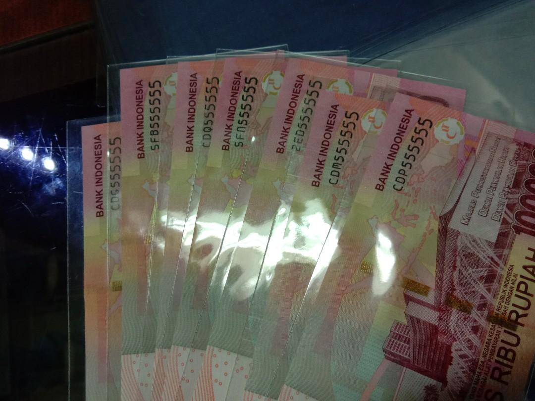 Uang Soetta Angka Cantik 555555