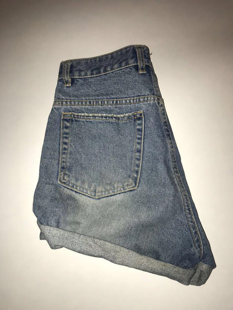 Vintage jean shorts size 26/27